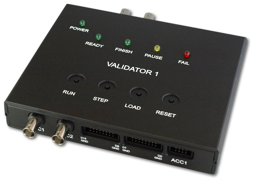 Validator 1: Front Top image